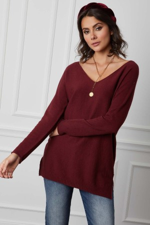 Pull long base cachemire